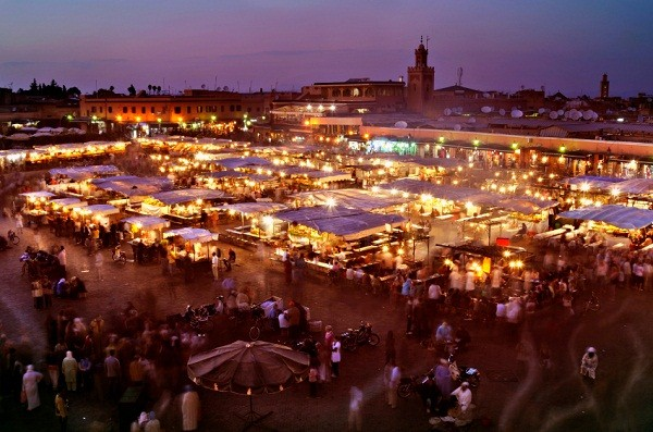 Marrakech-Jamaa-lfna From Fez