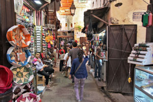 Morocco-Fez-Medina-Lane-300x200 10 Days Imperial Cities and Sahara Tours of Morocco